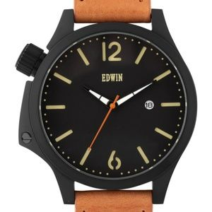 Edwin Leather Watch